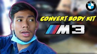 AKU PASANG BODY KIT M3 SPORT DEKAT BMW E90!