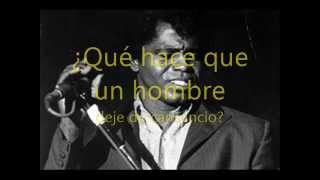 James Brown - Woman (subtitulada).
