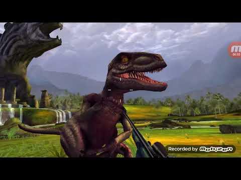Mới tải game Dino hunter Deadly Shores chơi game này là game bắn khủng long👍👍👍👌👌