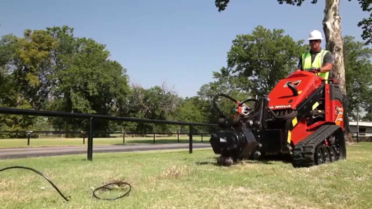 Vibratory Plow Attachment For Ditch Witch Mini Skid Steers