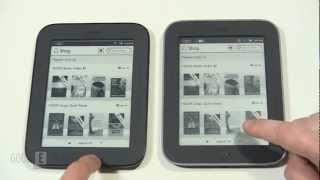 B&N Simple Touch VS Glowlight