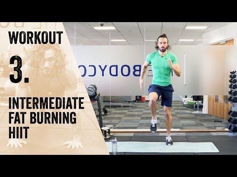 Workout 3 | Intermediate HIIT | The Body Coach Beginner Workout Series
