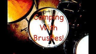 Jazz Drum Lesson: Comping with Brushes