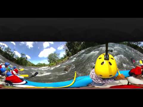 Arenal Rafting  la Fortuna 360 video Costa Rica 4K VR