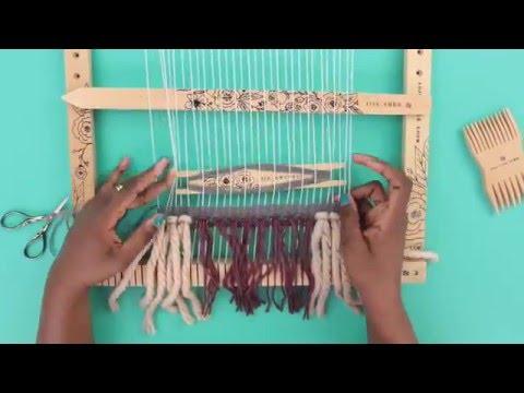 Prima Loom Tutorials  Basic Weaving