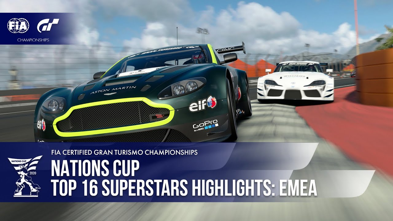 What. A. Race! Gran Turismo Sport Top 16 Superstars Highlights