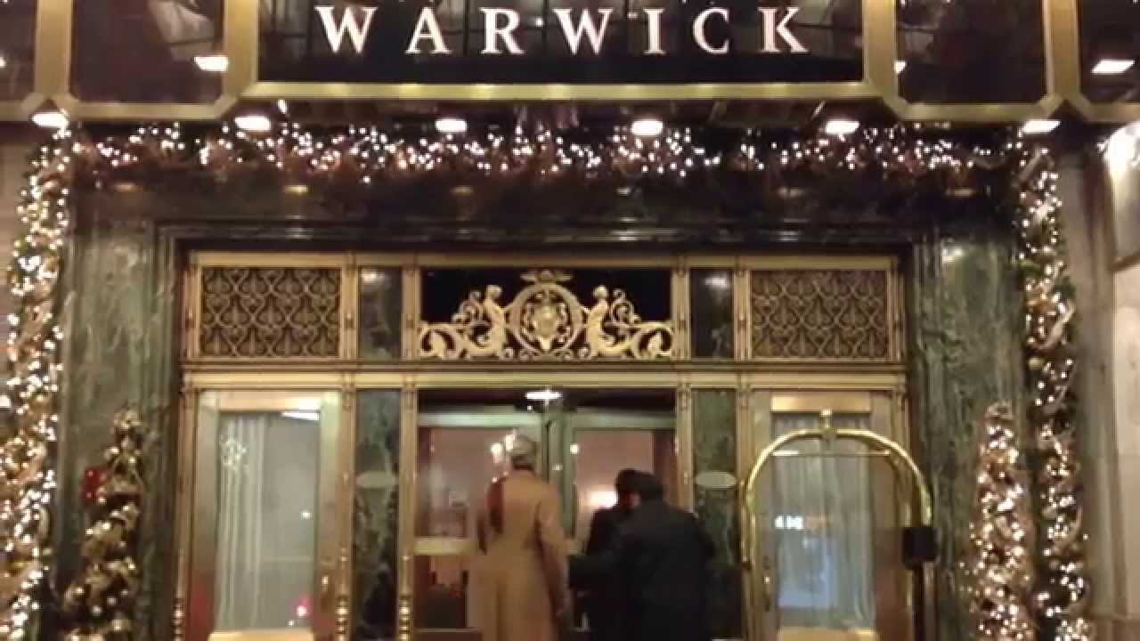 Christmas In New York City Happy New Year From The Warwick Hotel
