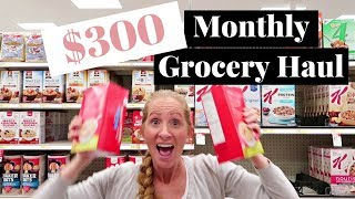 $300 October 2017 Grocery Haul & FREE Meal Plan | Costco Haul & Target Haul