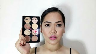 L.A. COLORS CONTOUR PALLETE REVIEW
