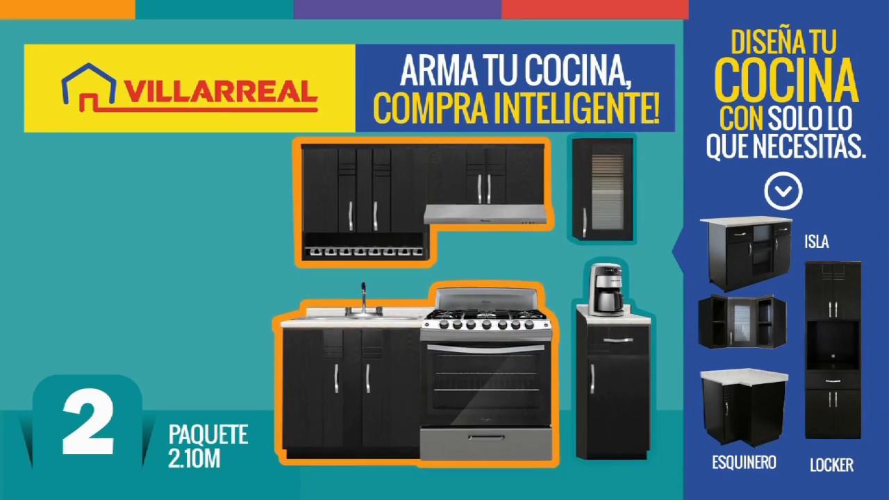 Arma tu cocina en villarreal youtube - Muebles munoz y villarreal ...