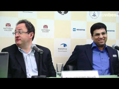 World Chess Championship 2012: Anand-Gelfand, game 1