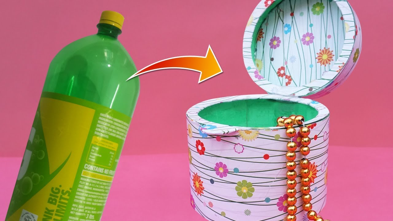 Best Out Of Waste Plastic Bottle Craft Ideas Diy Recycled