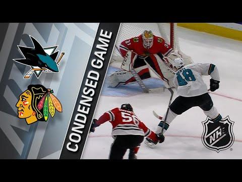 03/26/18 Condensed Game: Sharks @ Blackhawks