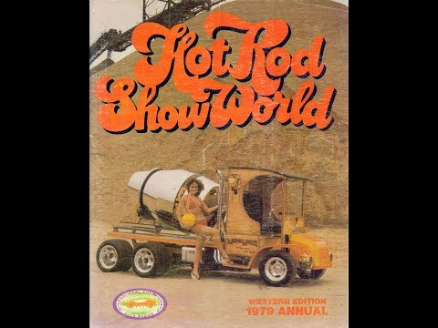 playboy playmates from the pages of hot rod show world 1979