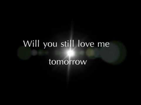 Will you still love me tomorrow -Leslie Grace (Lyrics)