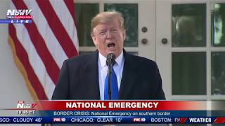FULL SPEECH: President Trump Announces National Emergency