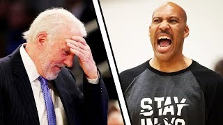 Gregg Popovich Speaks Out On LaVar Ball