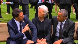بالفيديو.. أوباما يعطي ظهره للعبادي ويحرجه في بافاريا