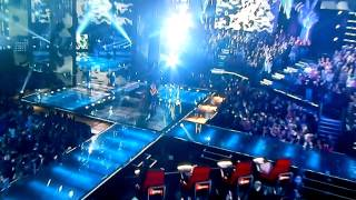 The Voice- Juliet Simms sings-Crying by Aerosmith