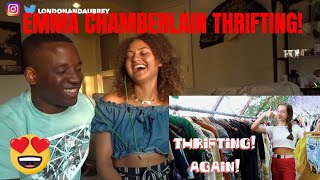 THRIFT WITH ME (for the millionth time)|EMMA CHAMBERLAIN REACTION