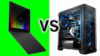 The Most POWERFUL Gaming Ultrabook vs Watercooled Desktop! Razer Blade Stealth + Razer Core!