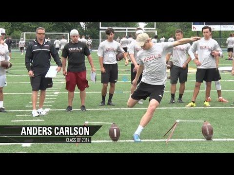 Anders Carlson | Class of 2017 | Field Goal Kicker