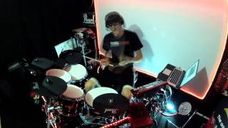 Working on Timing & Groove - Drum Lesson - Hats, Kick & Snare Practice