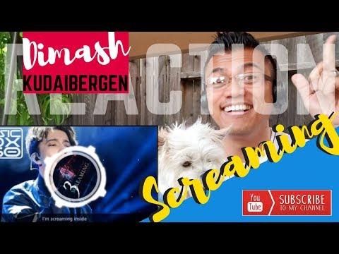 DIMASH KUDAIBERGENS new song, Screaming  REACTION vids with Bruddah Sam