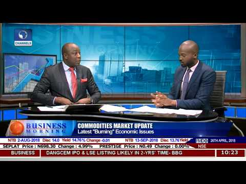 Commodities Market Update On Latest Burning economic Issues Pt.1 |Business Morning|