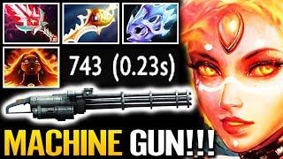 LINA Machine Gun - Cancer Attack Speed is BACK!! Dota 2 Gameplay by AdmiralBulldog