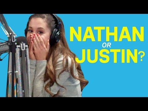 Ariana Grande On Justin Bieber, Nathan Sykes Romance Rumors