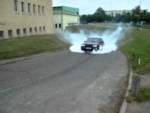 Golf 3 VR6 Burnout.