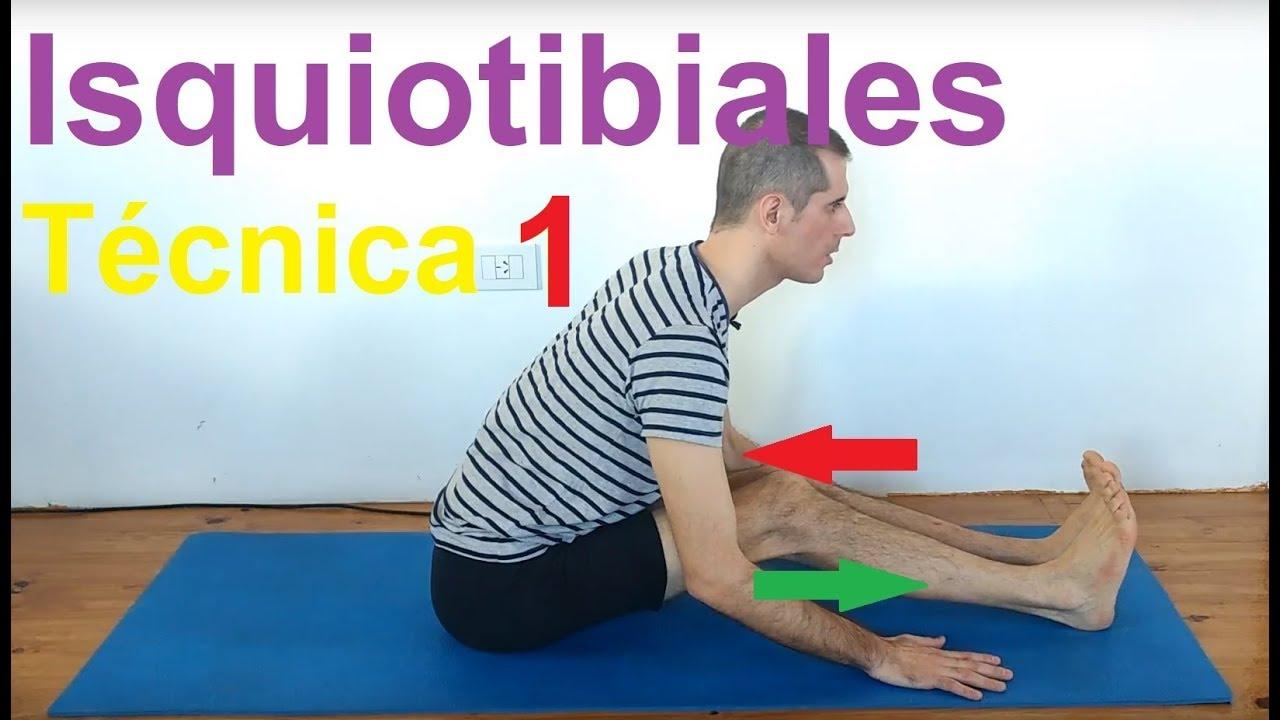 Paschimottanasana | Yoga Técnica 1: Huso Muscular en isquiotibiales