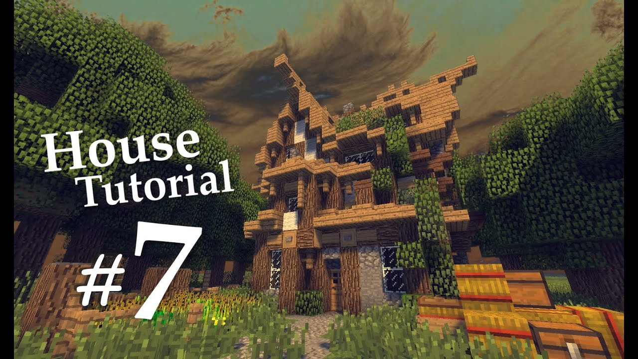 Minecraft medieval house tutorial design 7 part 2 2 youtube - Home design d tutorial ...