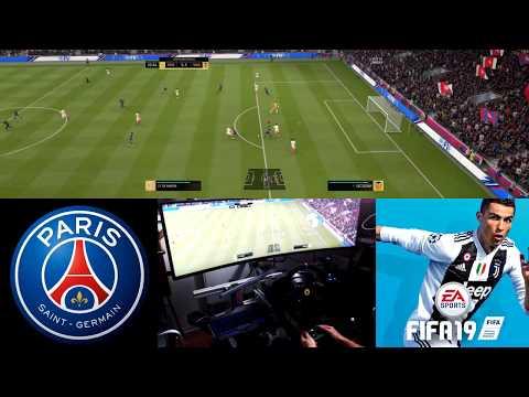 FIFA 19 JE VOIS TOUT LE TERRAIN AVEC MON ECRAN DE 1m24 )DE LONG ! (Samsung c49hg90)
