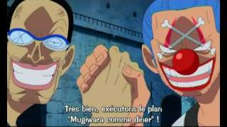 One Piece - Baggy et Mr3 à Impel Down