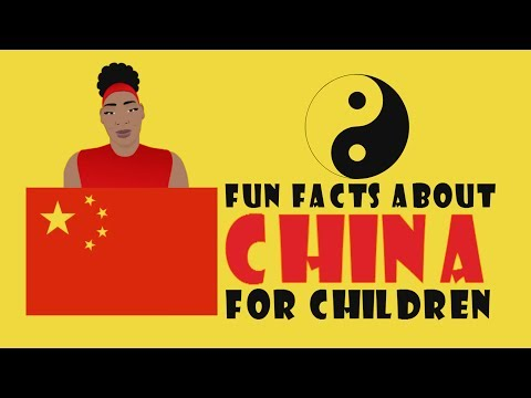 10 Fun Facts About China For Children Video (Cartoons For Kids - Elementary School/Homeschooling)