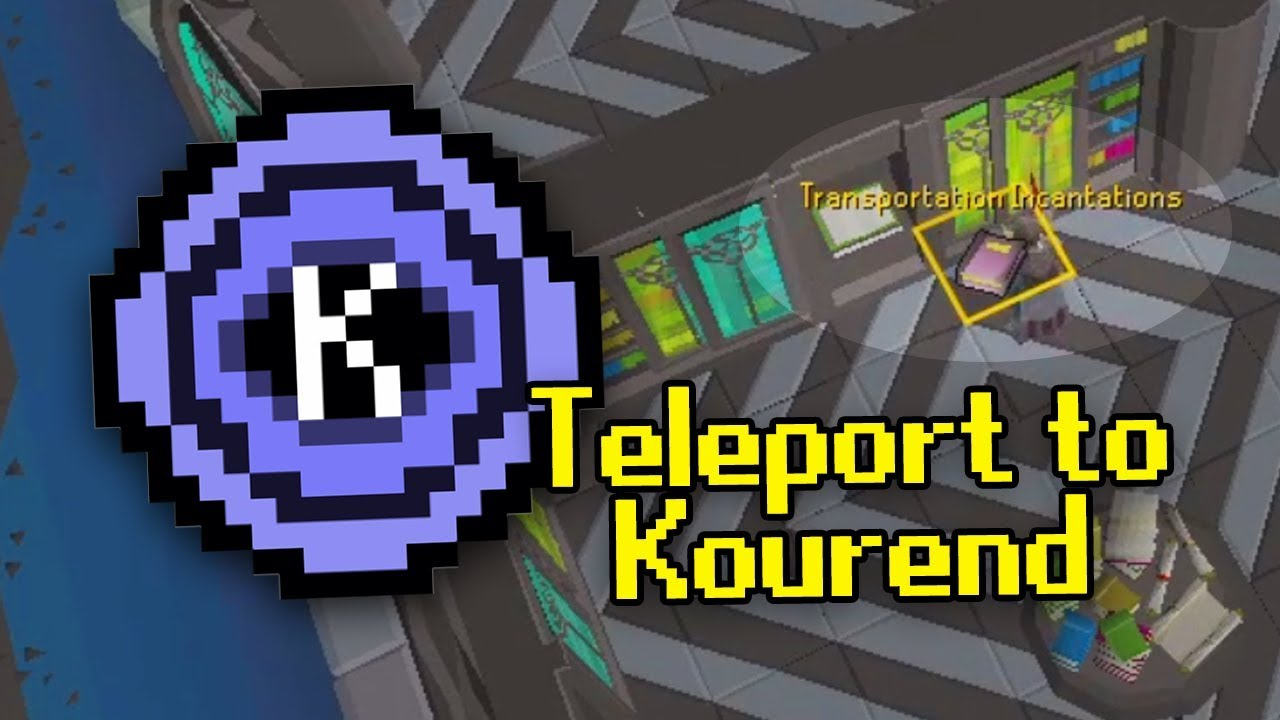 Unlock the Kourend Teleport in 5 mins (#QuickTip)