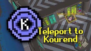 Unlock the Kourend Teleport in 5 mins (#QuickTip)