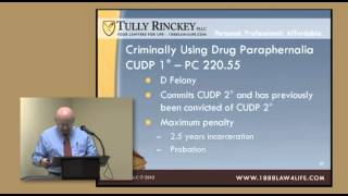 Albany NY Criminal Defense Attorney Tom Carr - Drug Offenses - Continuing Legal Education