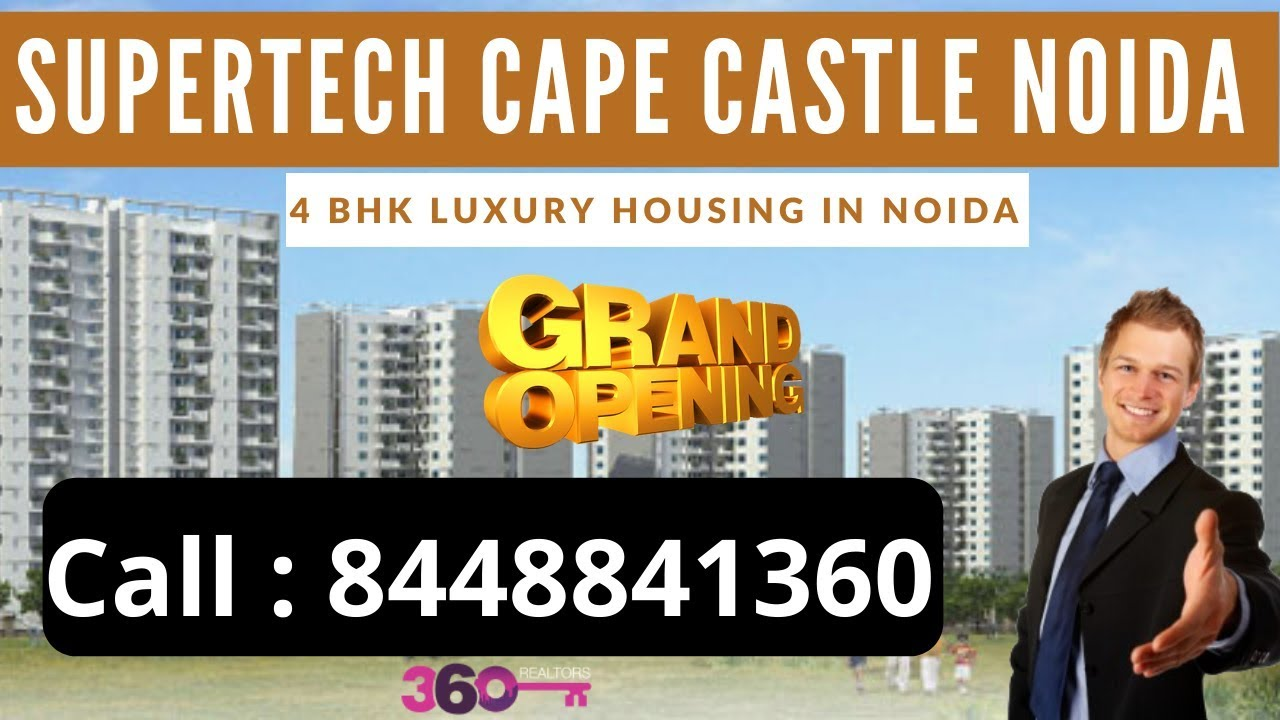 Supertech Cape Castle Sector 74 Noida | Ready to Move 4 BHK Apartment in Noida | Supertech Noida
