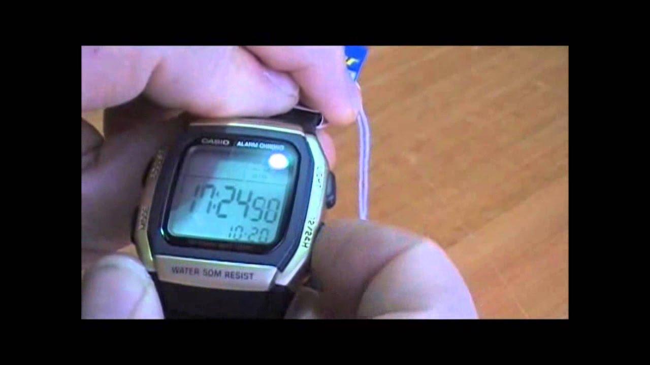 Al W96 La Cambiar Hora Casio Reloj RelojeriaComo xBQsdhCtr