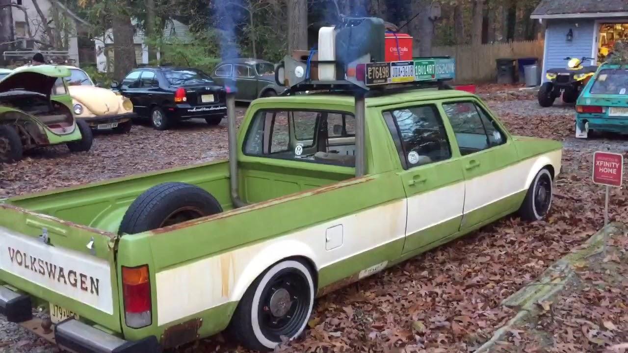 John S 1982 Custom 4 Door Volkswagen Pickup Truck