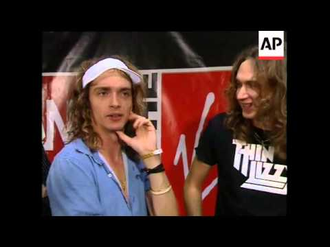 The Darkness - Justin Hawkins refers to NME