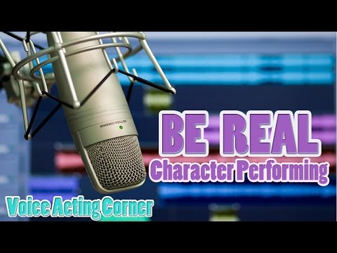 """Voice Acting Corner 