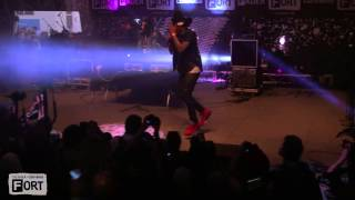 """Future Performs """"Karate Chop"""" At The FADER x Converse Fort"""