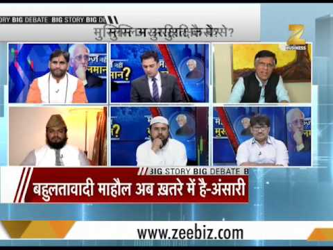 Big Debate: Fear, insecurity growing among Muslims in India, says Hamid Ansari