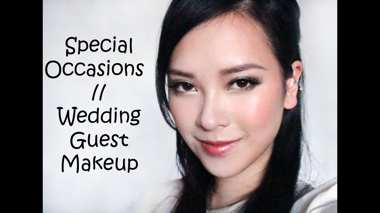 Vintage Wedding Makeup Tutorial : Special Occasions// Wedding Guest Vintage Makeup Tutorial ...