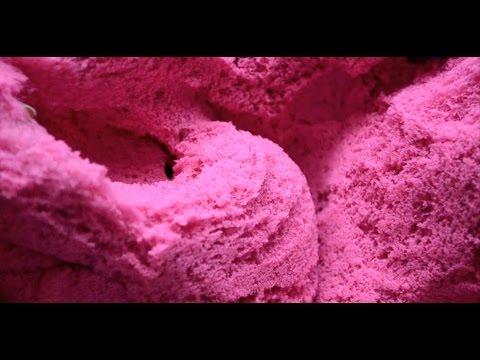 ASMR . Kinetic Sand . Whispering . Close-up