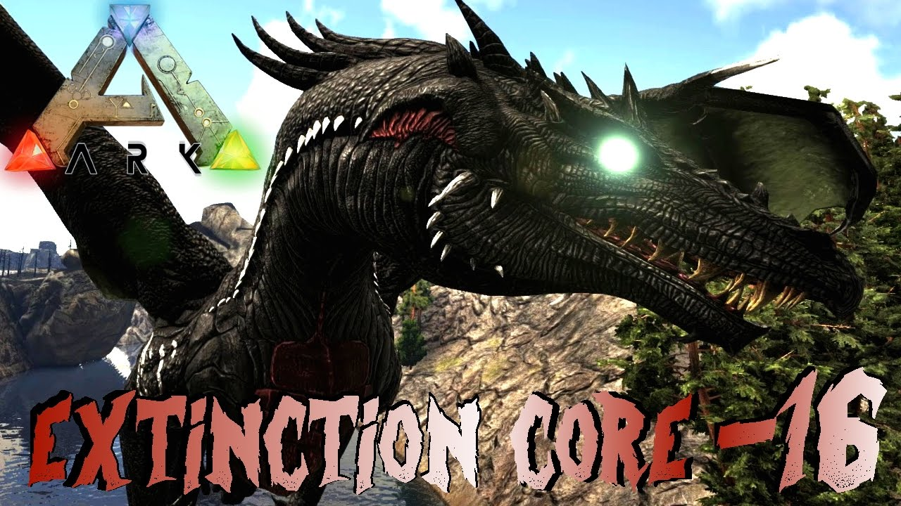 Ark Extinction Core 16 Die Dragon Boss Flucht Great